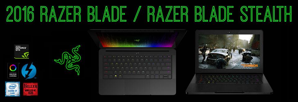 2016 Razer Blade Lineup