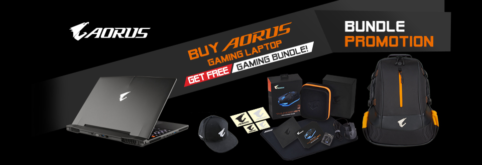 Aorus Summer Bundle Promotion