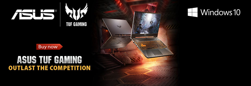 ASUS TUF Gaming A15 WINDOWS 10