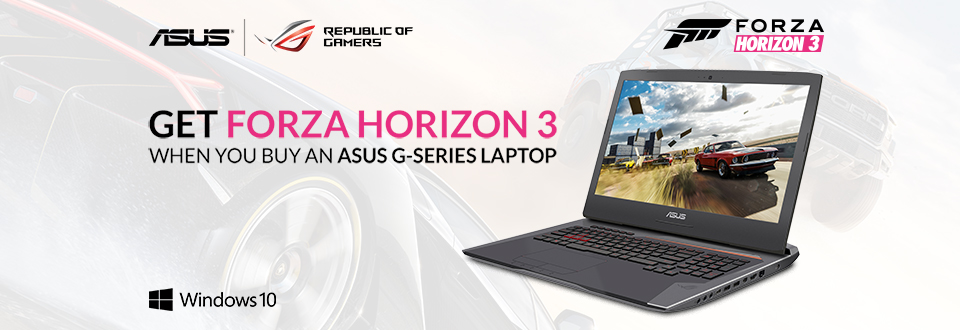 Asus Forza Promotion