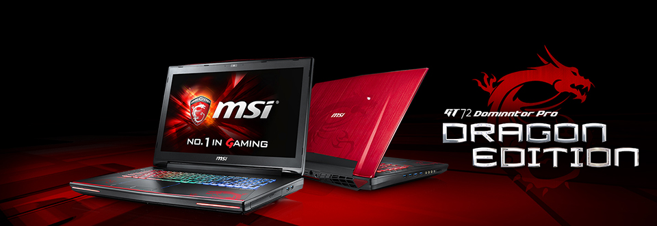 MSI GT72S Dragon