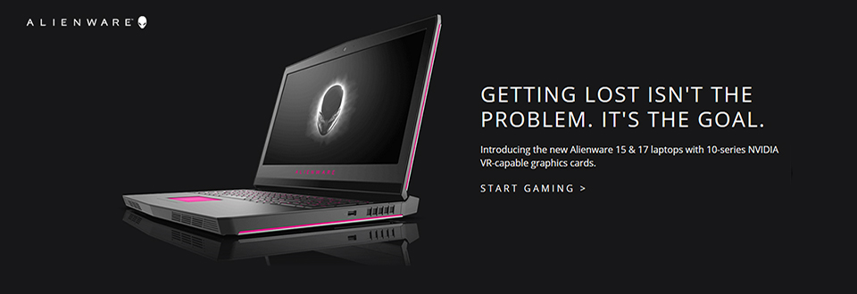 Alienware GTX 10 Laptops