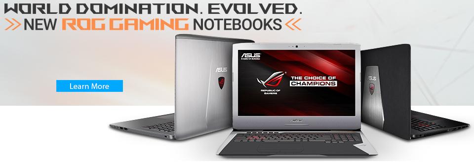 Asus ROG Skylake Laptops