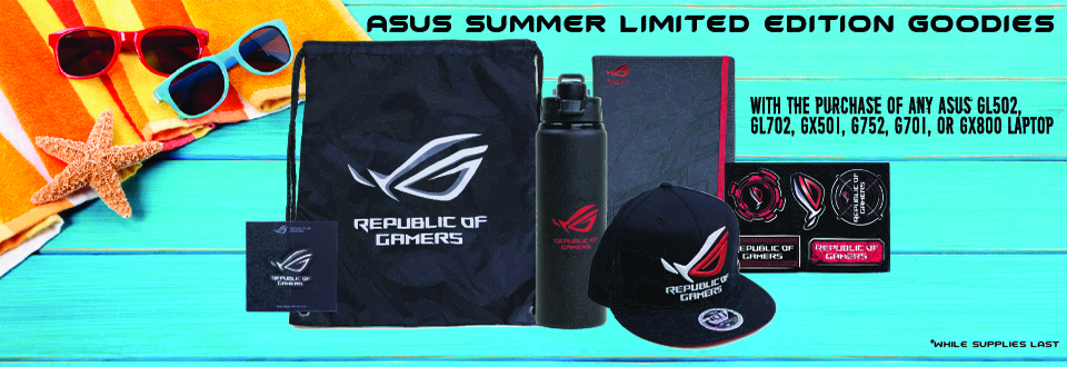 Asus Limited Edition Summer Goodies