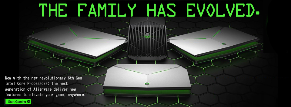 Alienware New Arrivals