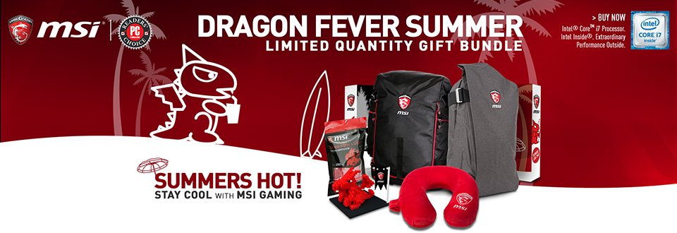 MSI Dragon Fever Summer Promotion