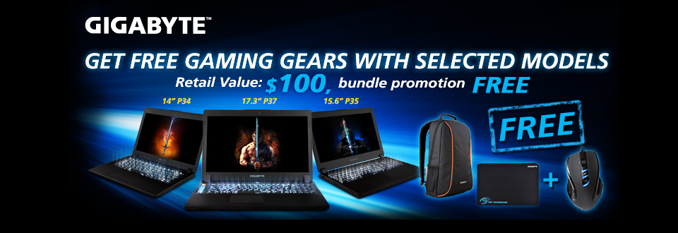 Gigabyte Summer Bundle Promotion
