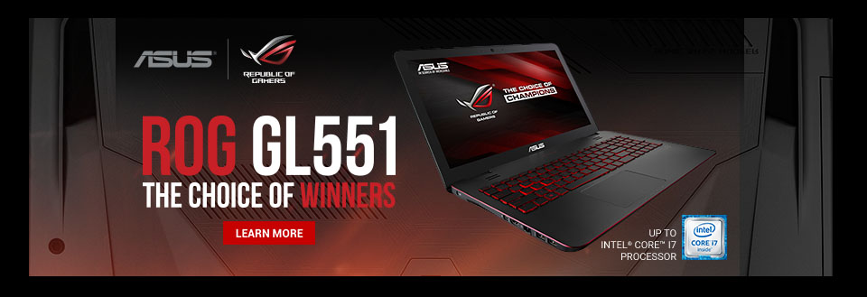 Asus ROG GL551VW Series