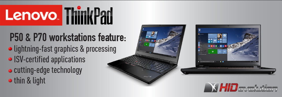 Lenovo P Series Workstations