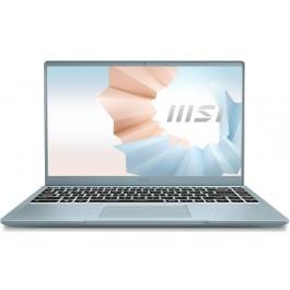 "MSI Modern 14 B11MO-612 - 14"" FHD - i3-1115G4 - Intel Iris Xe - Blue Stone"