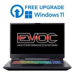 """EVOC High Performance Systems X1702F (X170KM-G) - 17.3"""" UHD G-Sync - i5-10600K / i7-10700K / i9-10900K - RTX 3080"""