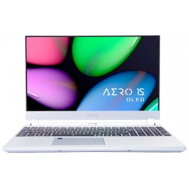 "Custom Built Gigabyte AERO 15S OLED KB-8US5130SP - 15.6"" UHD AMOLED - i7-10875H - RTX 2060 - Silver"