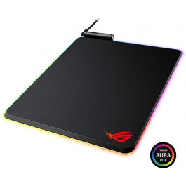 ASUS ROG Balteus RGB Gaming Mouse Pad - USB Port | Aura Sync RGB Lighting | Hard Micro-Textured Gaming-Optimized Surface & Nonslip Rubber Base