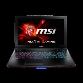 """MSI GE62 Apache-276 Windows 10 i7-5700HQ 2.7GHz 2G 960M 12G RAM 1TB HDD 15.6"""""""