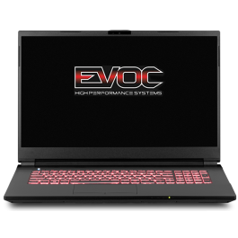 "EVOC High Performance Systems NH773 (NH77DPQ) - 17.3"" FHD 144Hz - i7-10870H - RTX 3060"