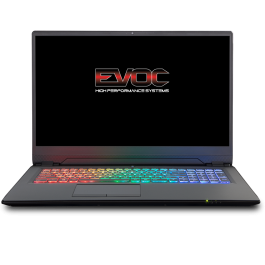"EVOC High Performance Systems P970EN - 17.3"" FHD 144Hz - i7-8750H - RTX 2080 Max-Q"