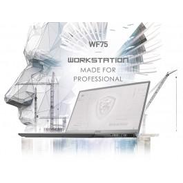 "Custom Built MSI WF75 10TK-250 - 17.3"" FHD 144Hz - i7-10750H - Quadro® RTX 3000"