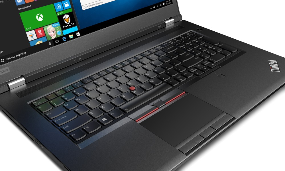 Custom Workstation Laptop Lenovo ThinkPad P72 20MB002KUS w ...