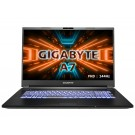 "Gigabyte A7 K1-BUS1130SH - 17.3"" FHD 144Hz - AMD Ryzen™ 7 5800H - RTX 3060"