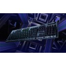 Logitech LIGHTSPEED Wireless RGB Mechanical Gaming Keyboard - GL Clicky Keys - Black