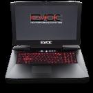 "EVOC High Performance Systems P870KM1 17.3"" Custom Built VR Ready Gaming Laptop w/ 1x or 2x GTX 1080"