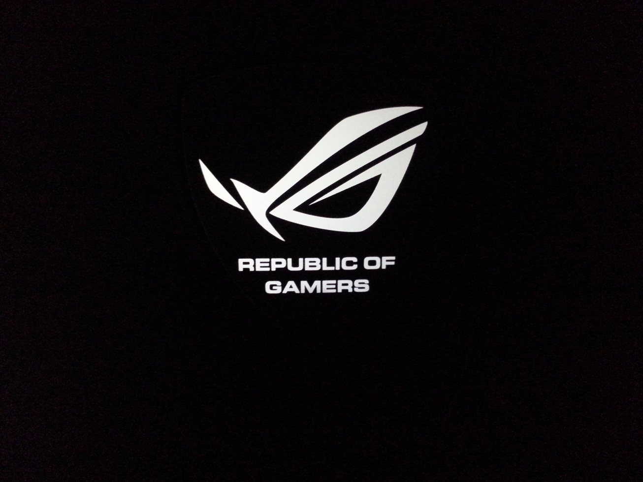 Gallery images and information: Asus Logo Black