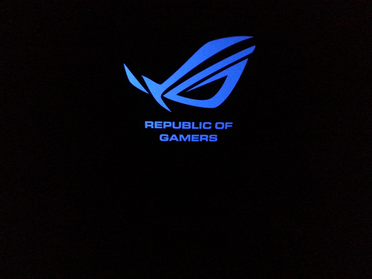asus blue rog wallpaper - photo #3