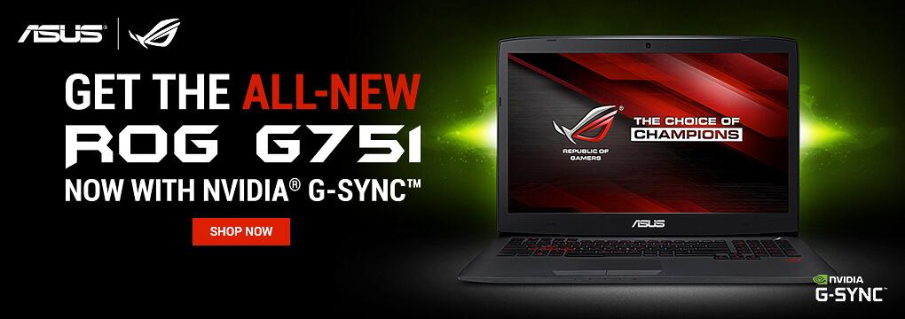 ASUS ROG G751 G-SYNC