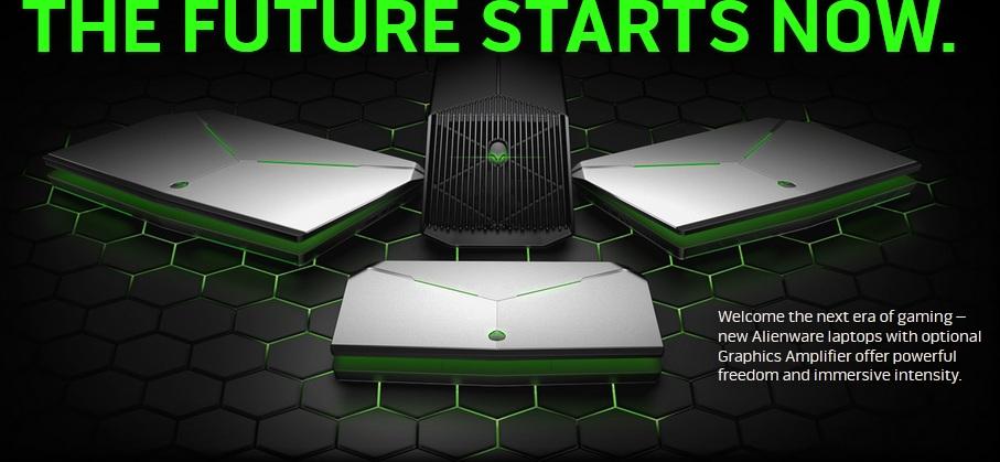 New Alienware Laptops